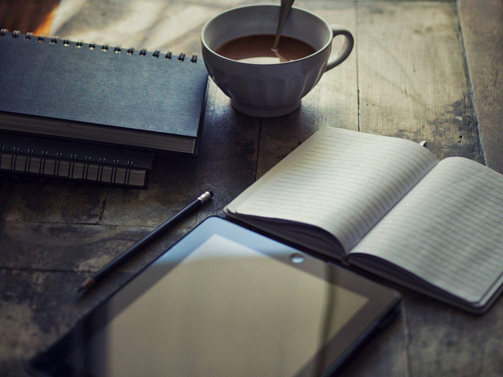 Eine Rede schreiben und die passende Idee finden.